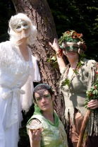 VF May Day Frost Queen Green Man May Queen