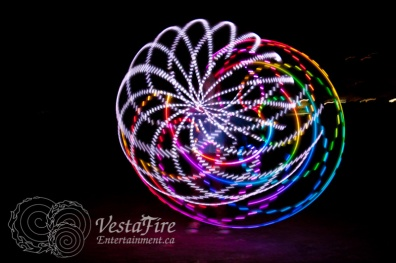 VestaFire LED hoop play 5