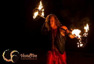 handsome vestafire performer in Vancouver