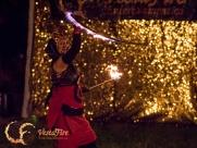 Halloween fire show in Lantzville