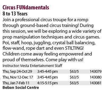 Circus Lesson Description